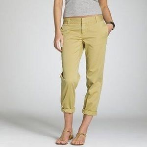 J.crew Scout Chinos, Size 6 Lemon Yellow